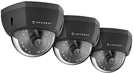 Amcrest IP2M-851EB ProHD Outdoor 2 MP PoE Dome IP Security Camera REFURBISHED
