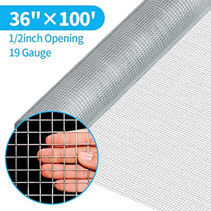 Pet Supplies Lovely Welded Galvanised Wire Mesh Fence 1x1 Inch Aviary Rabbit Hutch Chicken Coop Pet Modern Design