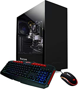 iBUYPOWER Work from Home PC Computer Desktop WFH001 (AMD Ryzen 3 3200G 3.6GHz, 8GB DDR4 RAM, 240GB SSD, WiFi Ready, Windows 10 Home)