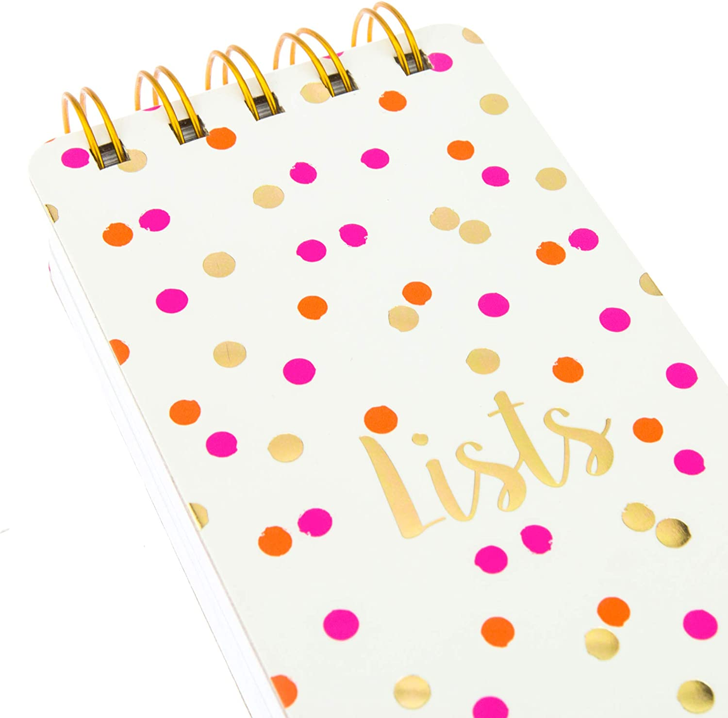Graphique Reporter Journal 3 x 8.75 Embellished Gold Foil Portable Notebook 150 Lined Sheets Perfect for Note Taking Lemon Design List Making and Much More