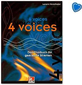 4 voces – El Coro libro para mixtos Voces a cappella – 200