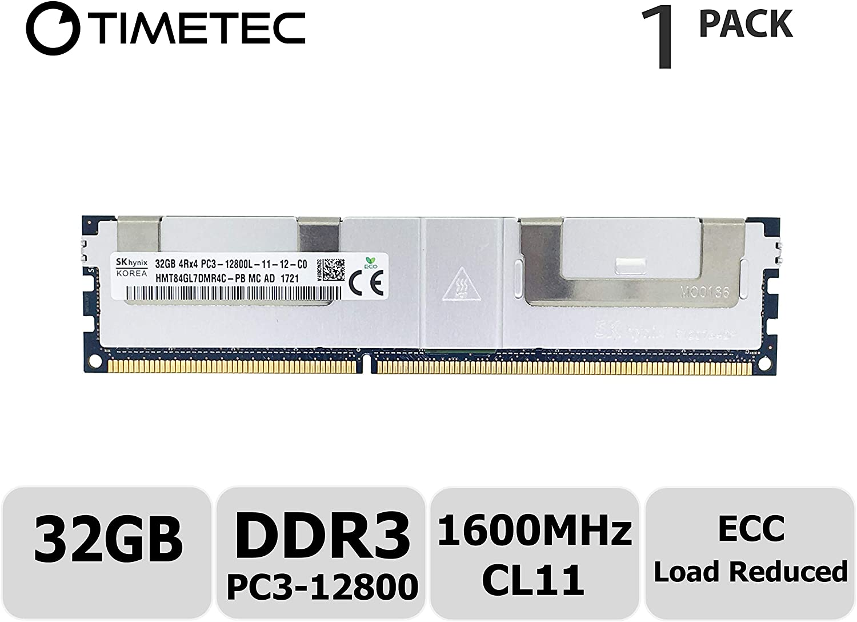 PARTS-QUICK BRAND 32GB Memory for Intel R1304GZ4GC Server System DDR3L PC3-12800L 1600MHz ECC LRDIMM