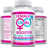 Natural Female Health & Vitality Booster Supplement Pills - Powerful Enhancement of Energy & Mood, Hormone Balance…