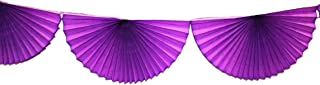 product image for 10 Foot Tissue Paper Bunting Garland (Purple)