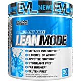 Evlution Nutrition Lean Mode Stimulant-Free Weight Loss Supplement With Garcinia Cambogia Cla And Green Tea Leaf Extract Blue Raz