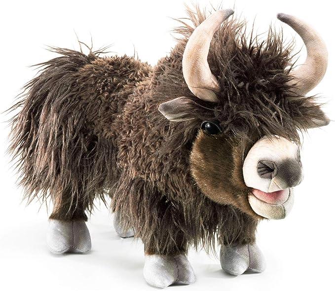 Hawanja finger puppet set yak