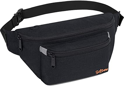 Its Too Peopley Outside Sport Waist Bag Fanny Pack Adjustable For Travel