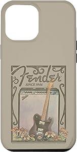 iPhone 12 Pro Max Fender Since 1946 Retro Poster Case