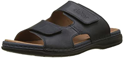 Chaussures Rieker bleues homme 67MuYEDc