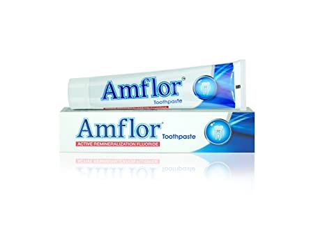 Amflor Organic Fluoride Toothpaste - 70 gms by GPL