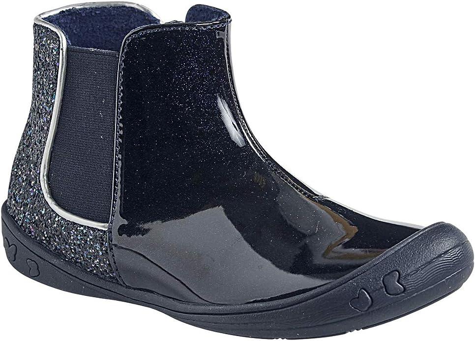 Vertbaudet Boots Paillettes Fille Marine 30