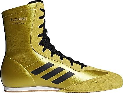 adidas Box Hog 3 Boxschuhe Gold Herren Größe 40 23: Amazon