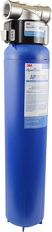 3M Aqua-Pure Whole House Sanitary Quick Change Water Filter System AP903, Reduces Sediment, Chlorine Taste, and Odor Image