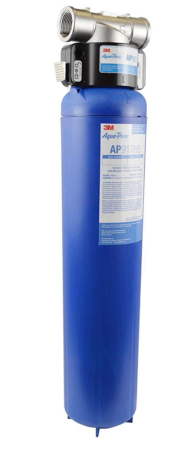3M Aqua-Pure Whole House Sanitary Quick Change Water Filter System AP903, Reduces Sediment, Chlorine Taste and Odor: Appliances