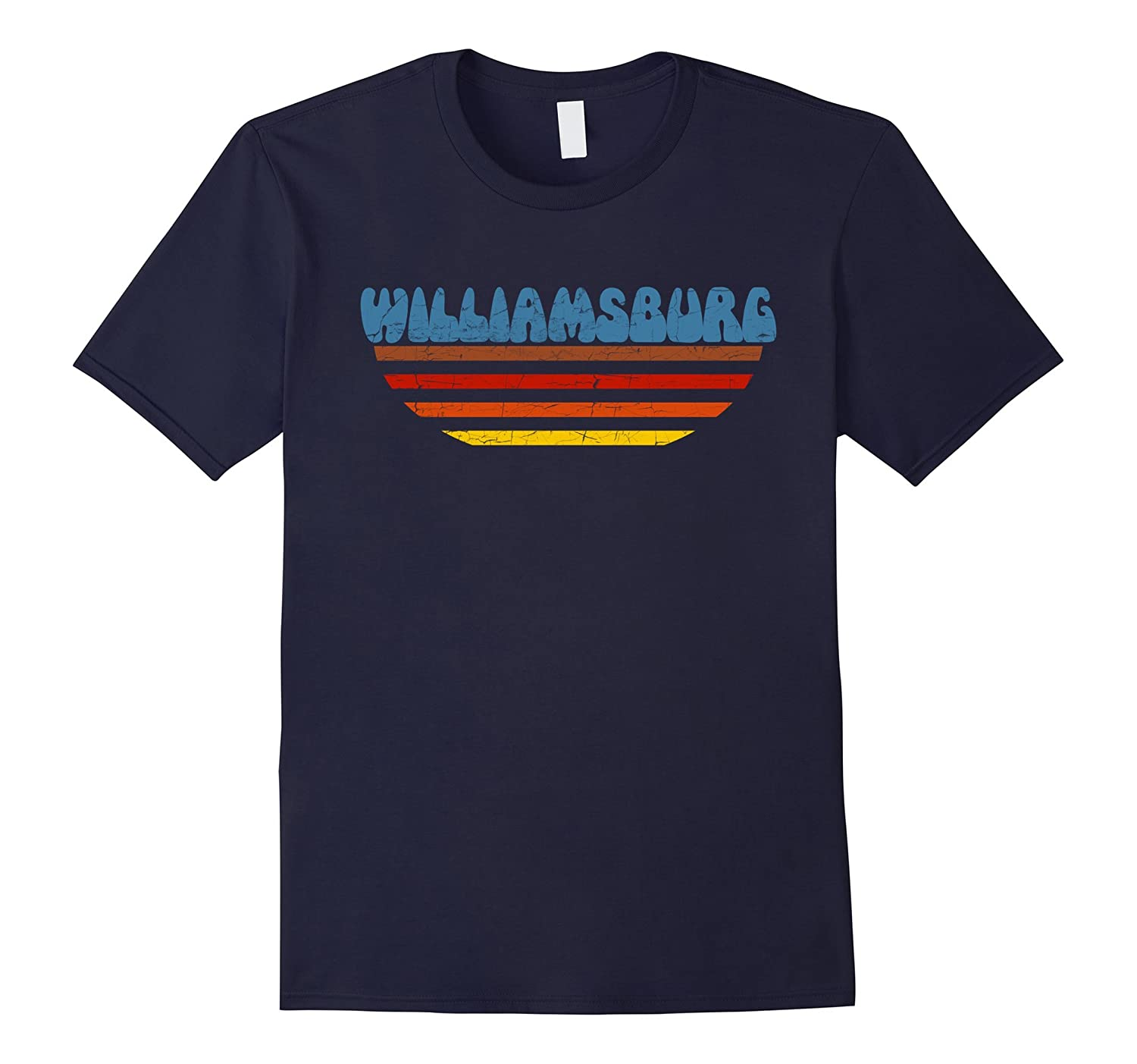 Retro Vintage Williamsburg Brooklyn T-Shirt-Art