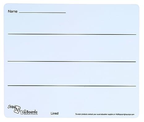 Spaceright Europe 990303L/100 ShowNTell - Pizarra de Ordenador portátil Flexible