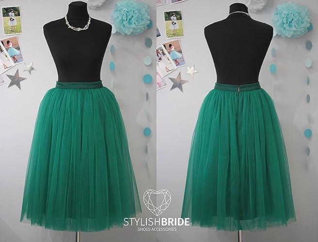 Emerald Green Tulle Dress