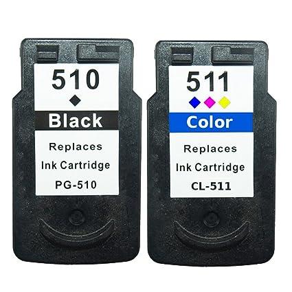 2 Cartuchos de impresora de tinta para Canon Pixma MP240 ...