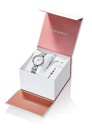 Reloj Viceroy Niña Pack 401080-07 + Pendientes y Pulsera: Amazon.es: Relojes