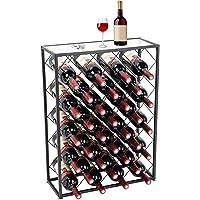 D4P Display4top Botellero con Tablero para 32 Botellas