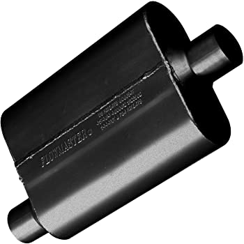 """Flowmaster 8425152 Universal 2.5/"""" Center In//2.25/"""" Dual Out Super 10 Muffler"""