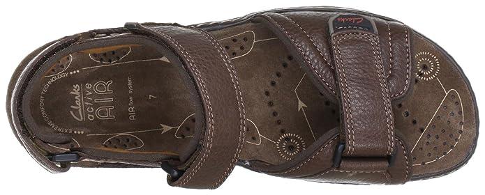 cd7b433d15940 Clarks Atl Part, Men's Sandals, Braun (Dark Brown Lea), 8.5 UK:  Amazon.co.uk: Shoes & Bags