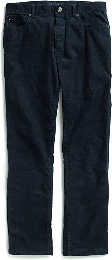 Tommy Hilfiger Boys Adaptive Chino Pants Stretch Adjustable Waist and Magnet Buttons