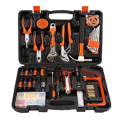 Kit de herramientas para el hogar Conjunto de 100 piezas de conjunto de herramienta manual Conjunto