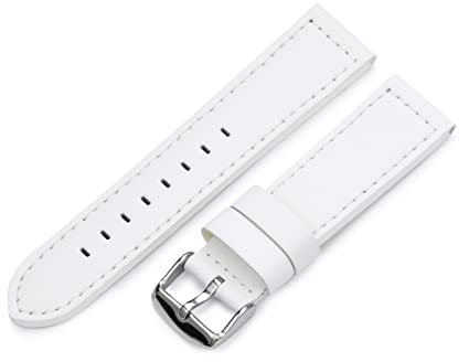 63c107a5d11 Image Unavailable. Image not available for. Color  Hadley-Roma 22mm  Men s  Watch  Strap ...