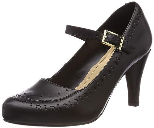 314c17261ef9 Clarks Women s Dalia Millie Closed-Toe Pumps  Amazon.co.uk  Shoes   Bags