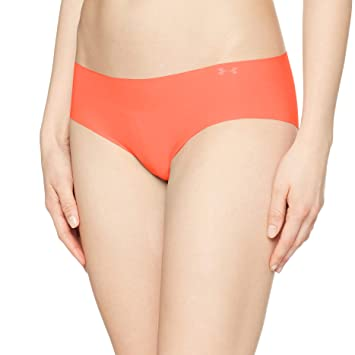 Under Armour Pure Stretch Hipster Boxer Jock - Calcetines para Mujer, Mujer, 1275736-