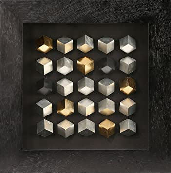 Modern 3D Shadow Box , Cube 3d Wall Art For Wall Decor Home Decoration  24u0026quot;