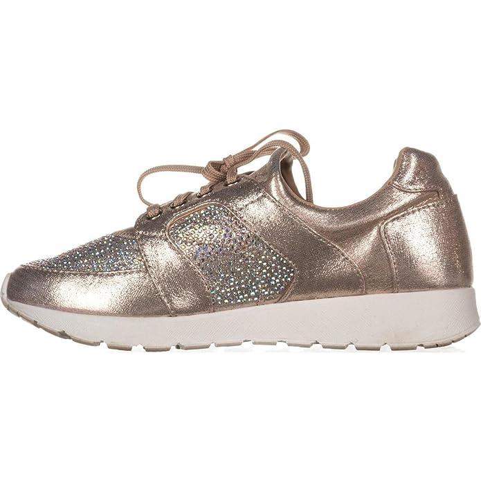 INC International Concepts Pakiss Women's Fashion Sneakers Champagne Size 8.5 M