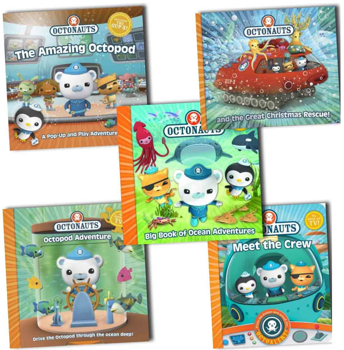 Octonauts Octopad Adventure 5 Books Collection Pack Set (The Amazing ...