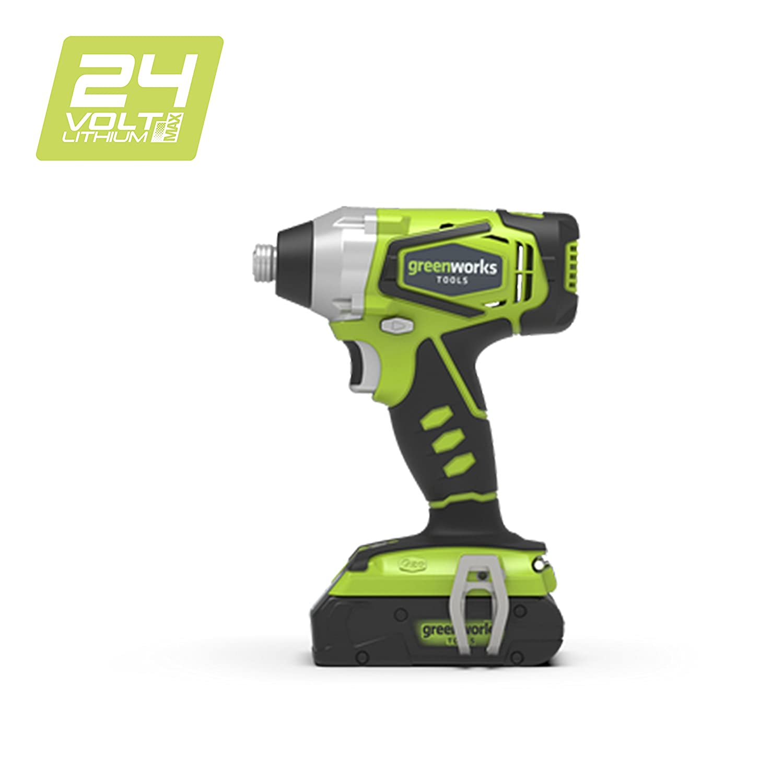 Greenworks Visseuse à chocs sans fil 24V Lithium-ion (sans batterie ni chargeur) - 3801307 Greenworks Tools