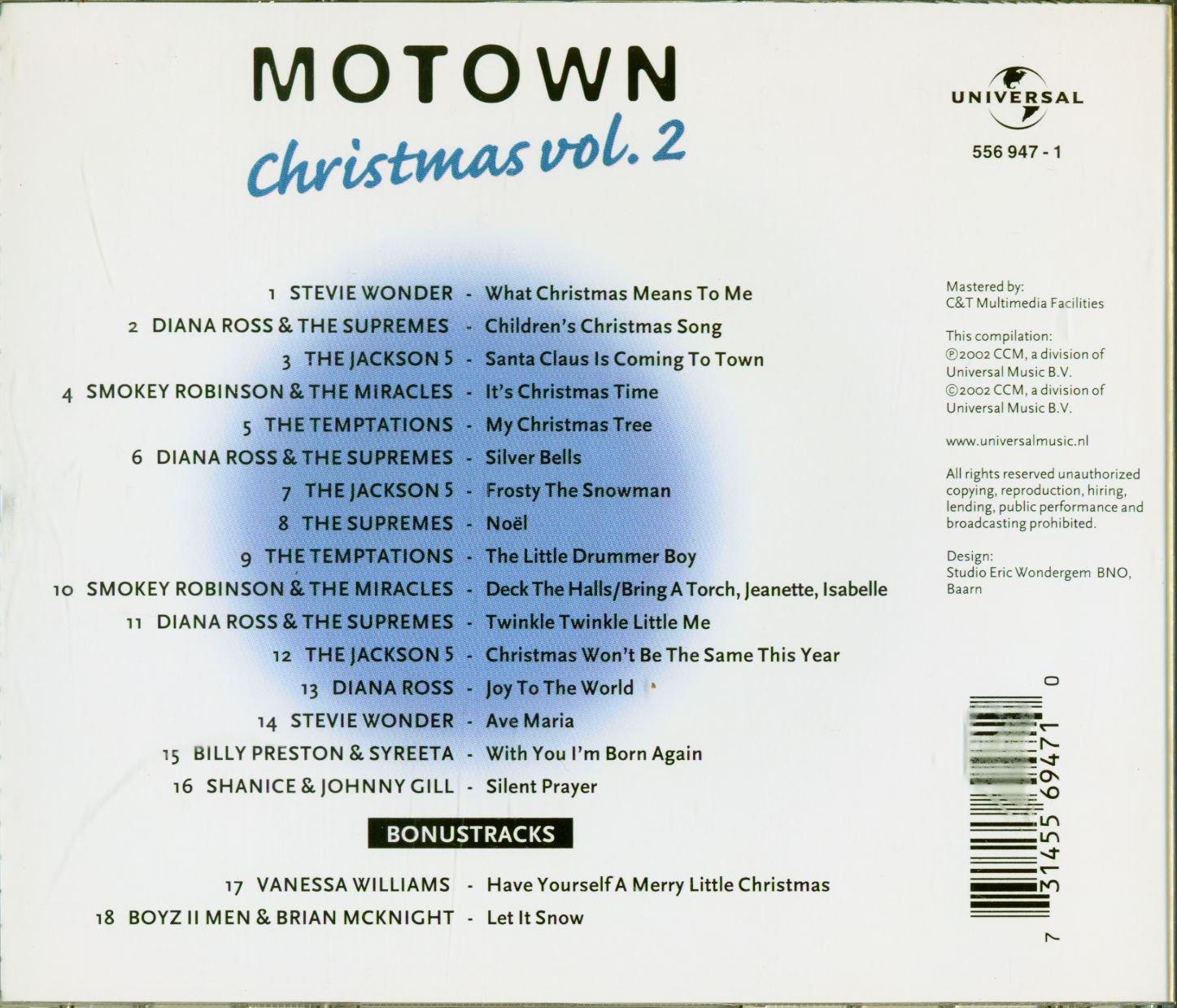 Motown Christmas Vol.2 - Amazon.com Music