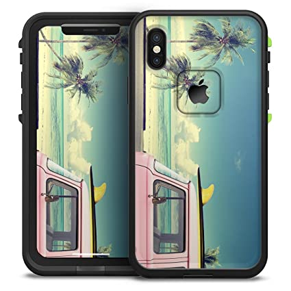 buy online 94afc cf24e Beach Trip Design Skinz iPhone LifeProof Fre Case Waterproof Design Skin  Decal Kit - iPhone X (Ten)