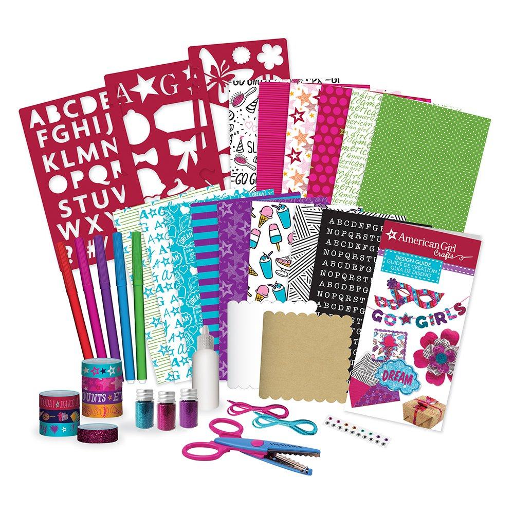 Amazon Com American Girl 24182 All About Paper Craft Kit Multi