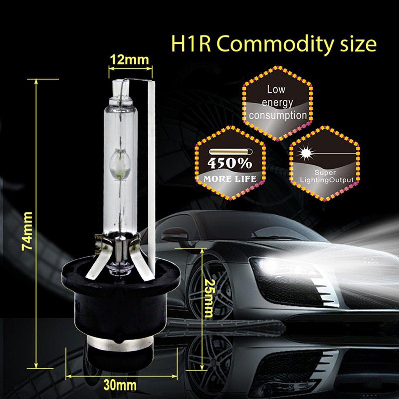 SOCAL-LED 2x D4S HID Bombillas Reemplazo directo del faro de xen/ón OEM de 35W CA 11000K Azul Violeta