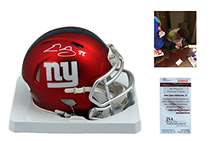 Image Unavailable. Image not available for. Color  Evan Engram Autographed  Signed New York Giants ... 18a12b537