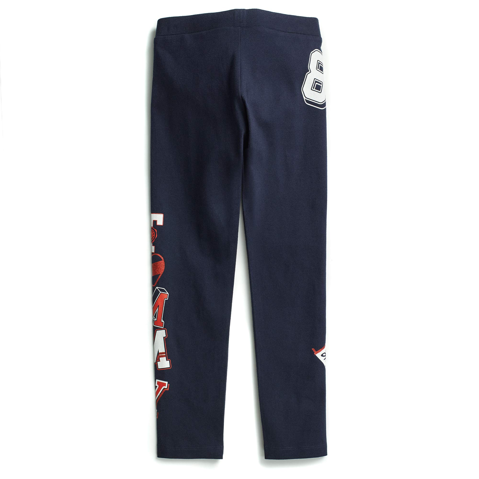 Tommy Hilfiger Girls' Adaptive Leggings with Elastic Waist, evening blue X-Small by Tommy Hilfiger (Image #3)