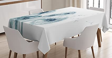 Amazon.com: Ambesonne Xray Flower Decor Tablecloth, Unusual Image of ...