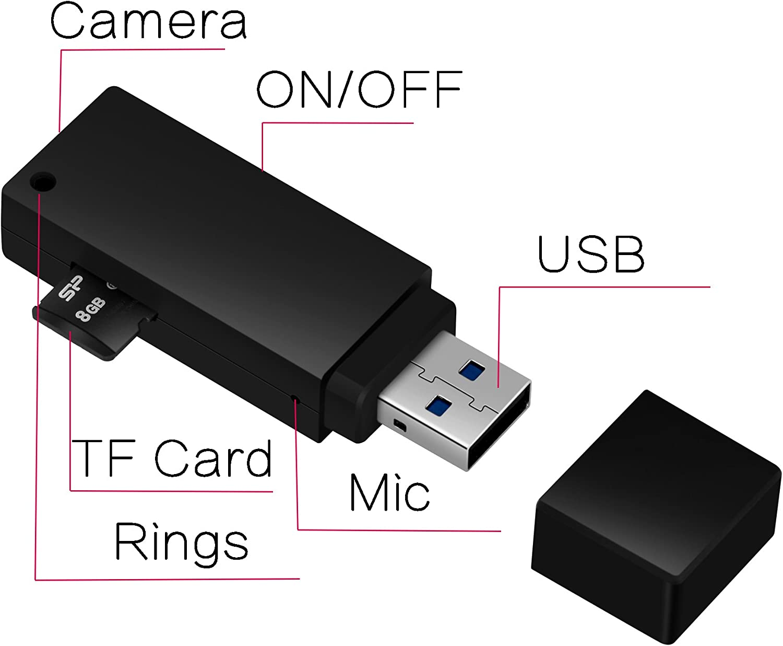 High-definition mini digital video usb camera DV sound recordings