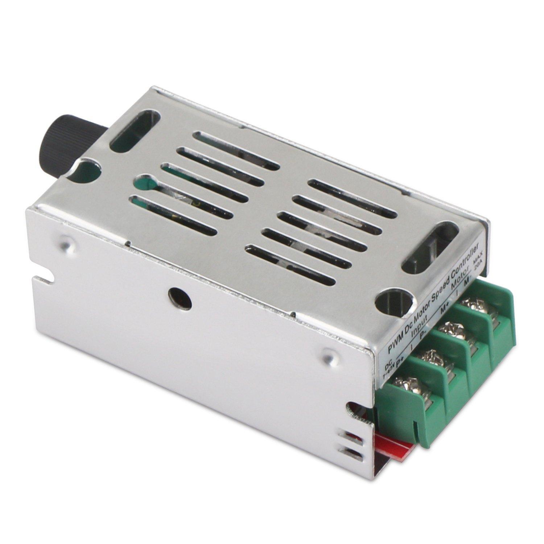 12V Motor Speed Controller, DROK DC Motor Driver Board for Brush ...