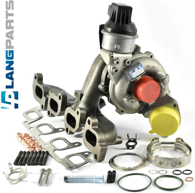 CFFB CFFE CFHC CFJA CBDC Preis inklusive 100,00/€ Pfand Turbolader 54409700007 mit Dichtungsatz Montagesatz
