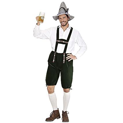 WIDMANN Desconocido Disfraz de bávaro para hombre: Amazon.es ...