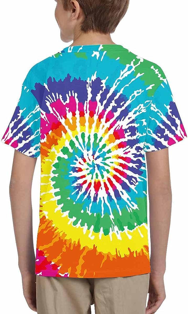 XS-XL INTERESTPRINT Youth T-Shirts Tie Dye