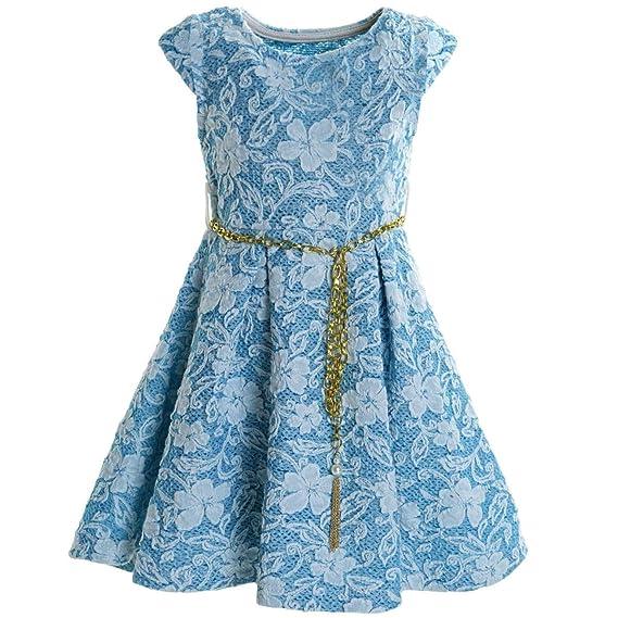 BEZLIT M/ädchen Kleid Peticoat Fest Freizeit 21228
