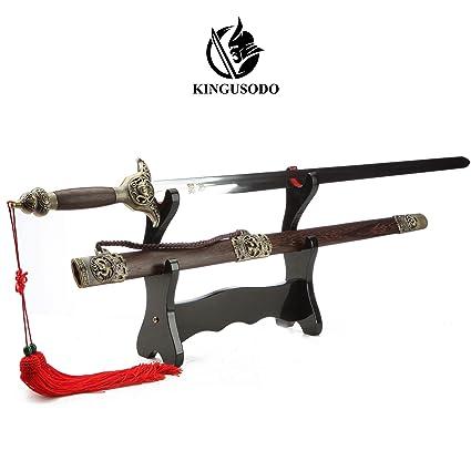Amazon com : KINGUSODO Chinese Swords Practice, Unsharpened