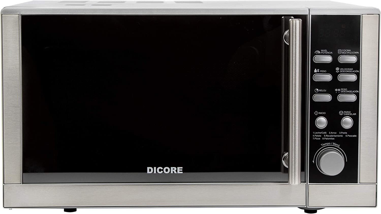 Dicore – Microondas electrónico inoxidable 23L